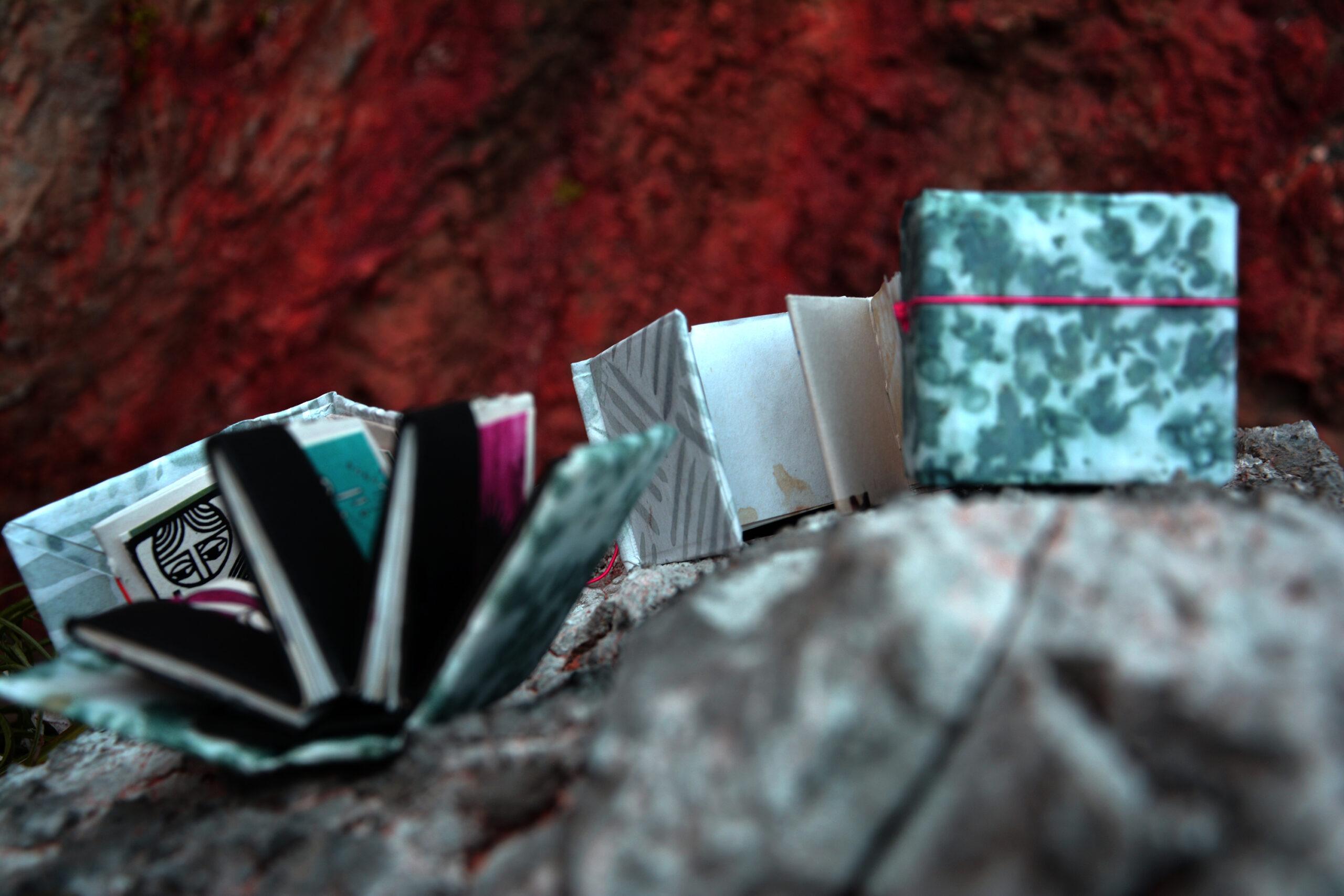 accordion books